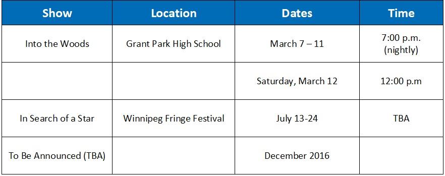 MTFC Schedule